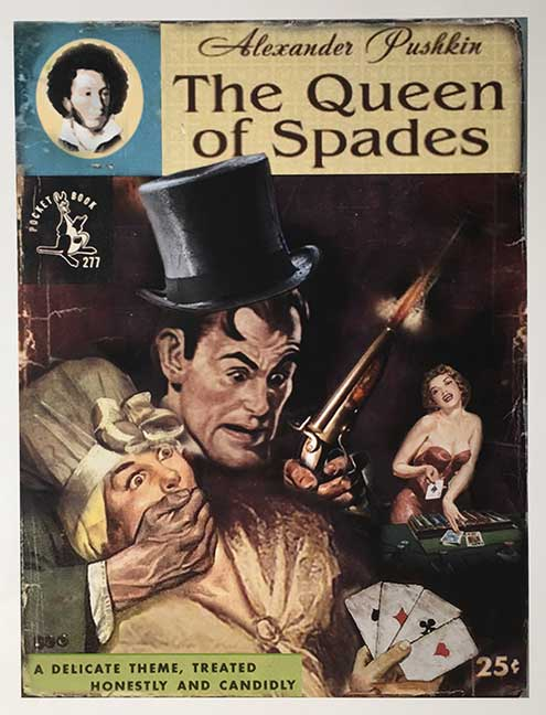 queen of spades pushkin essay Irony in pushkin's book the queen of spades pages 1 irony, comedy, pushkin, the queen of spades most helpful essay resource ever.